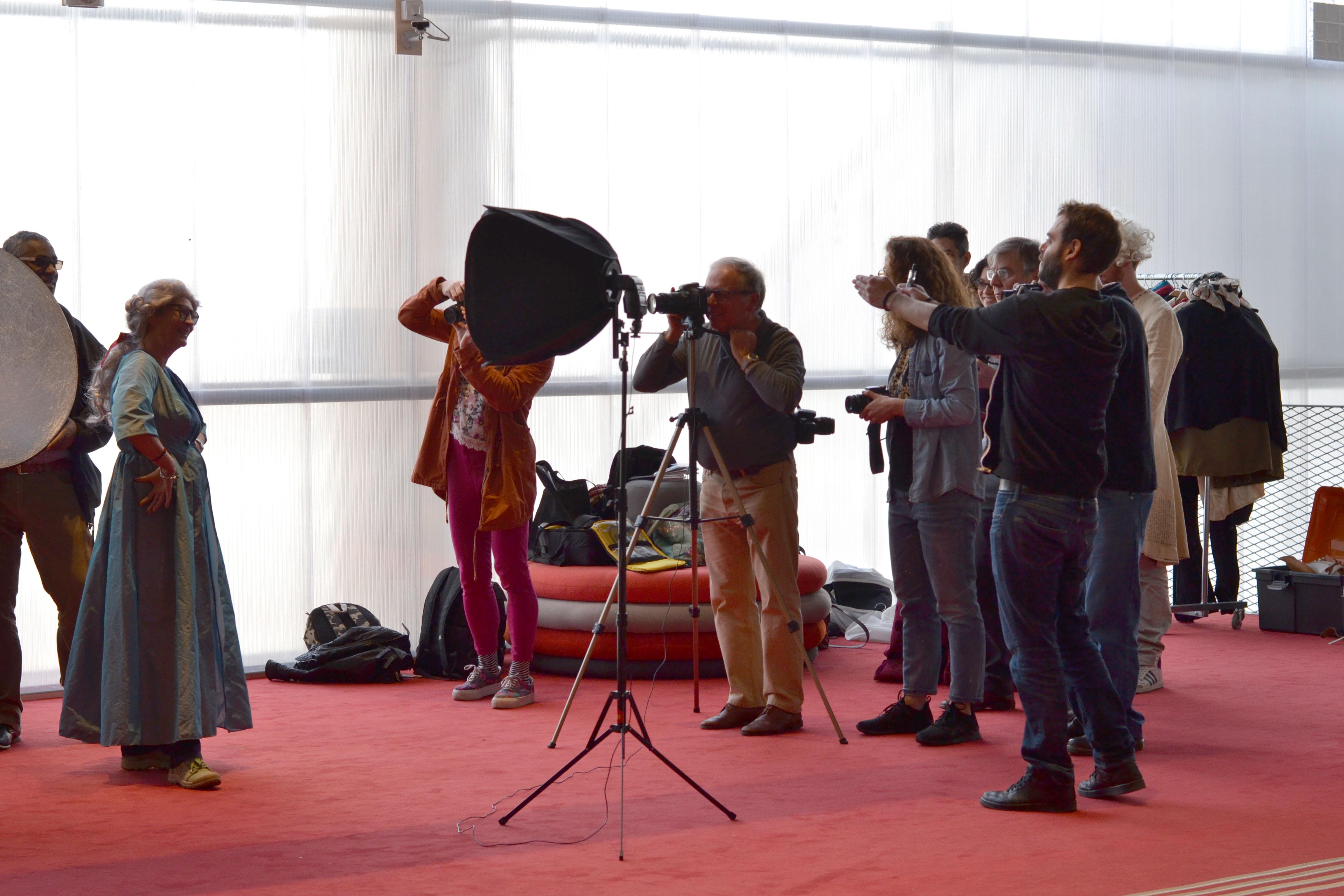 Premiers ateliers photo à Montreuil