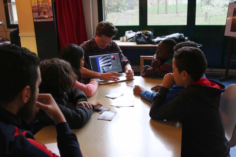 Ateliers avec les enfants et adolescents