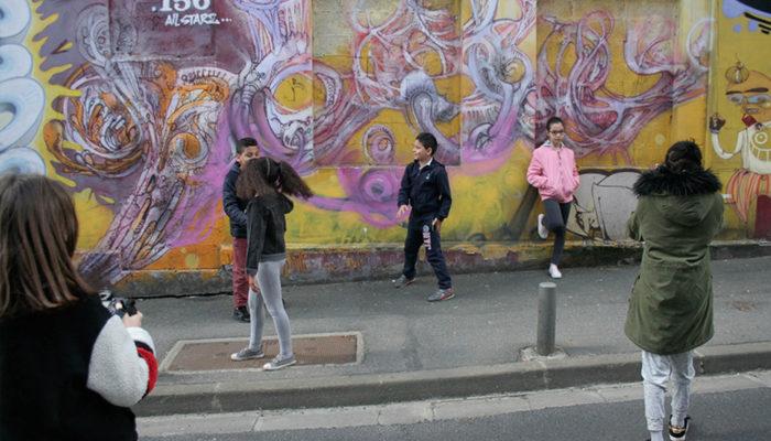 dans les rues de Bagnolet