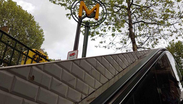 sortie de metro